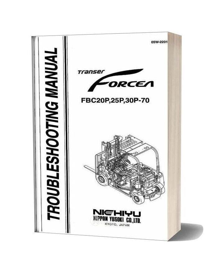 Nichiyu Forklift Fbc20 25 30 70p Troubleshooting Manual
