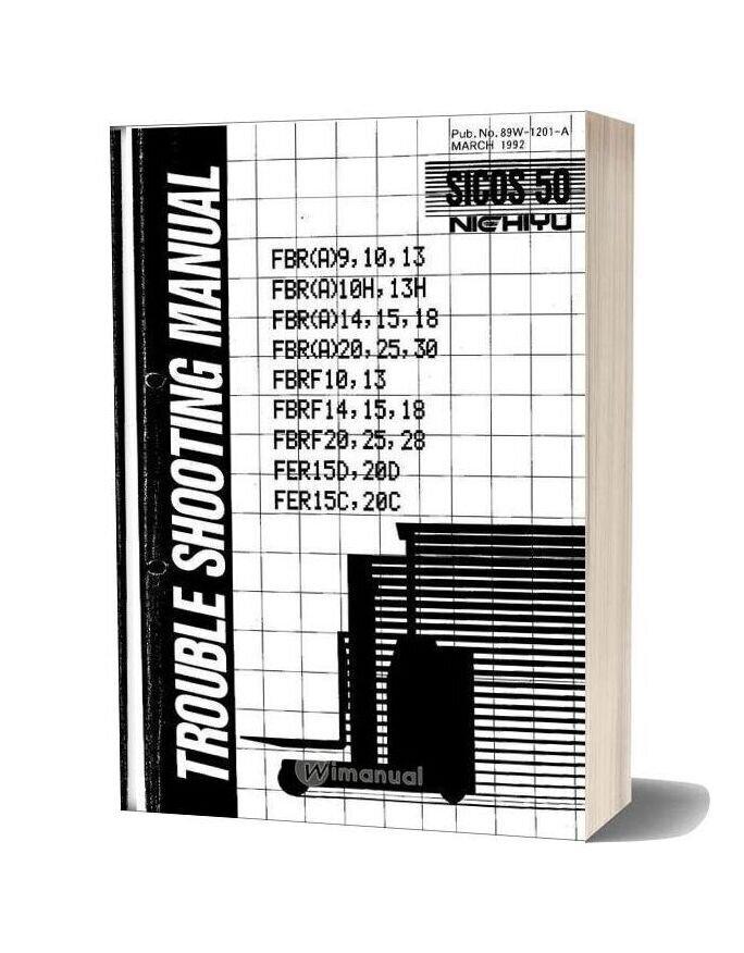 Nichiyu Forklift Fbr A F Service Manual