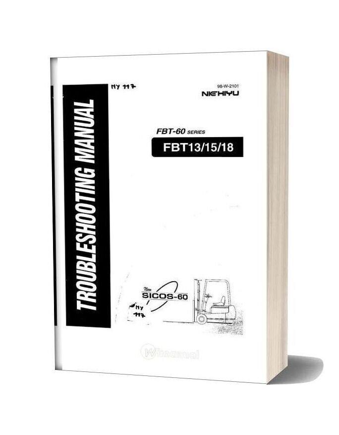 Nichiyu Forklift Fbt 13 15 18 Sicos 60 Troubleshooting Manual