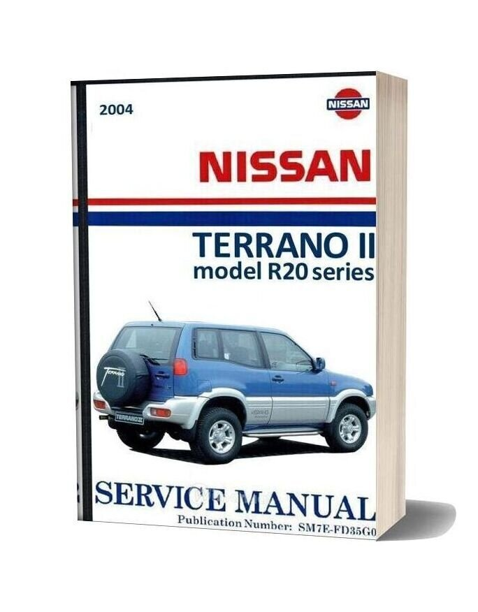 Nissan Terrano 2004 Service And Repair Manual