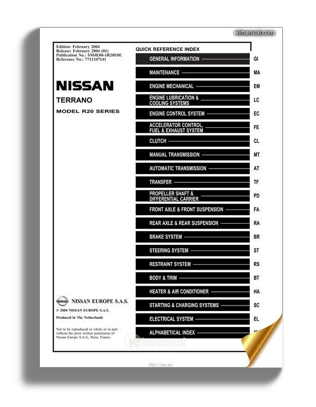 Kindle File Format Nissan Terrano Owners Manual