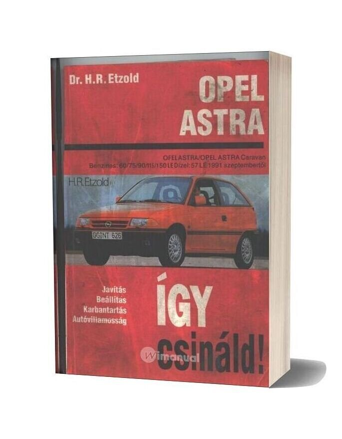 Opel Astra F Service And Repair Manual