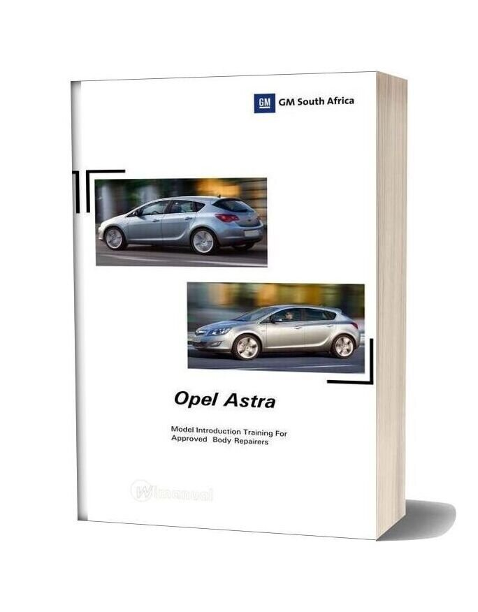 Opel Astra J Training Manual 2011