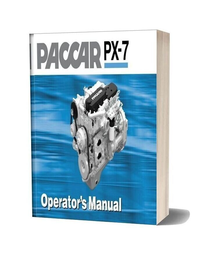 Paccar Engine Manuals Paccar Px 7 Engine Operator Manual