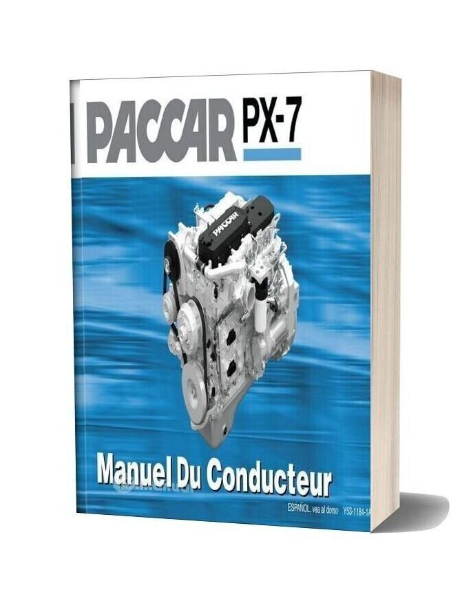 Paccar Engine Manuals Paccar Px 7 Engine Operators Manual Fr