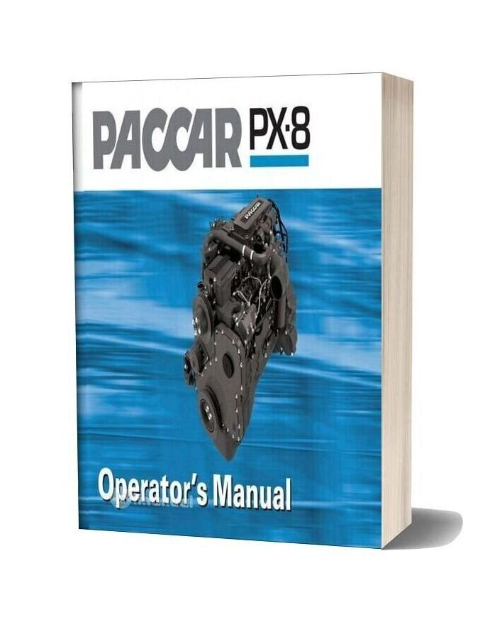 Paccar Engine Manuals Paccar Px 8 Engine Operators Manual