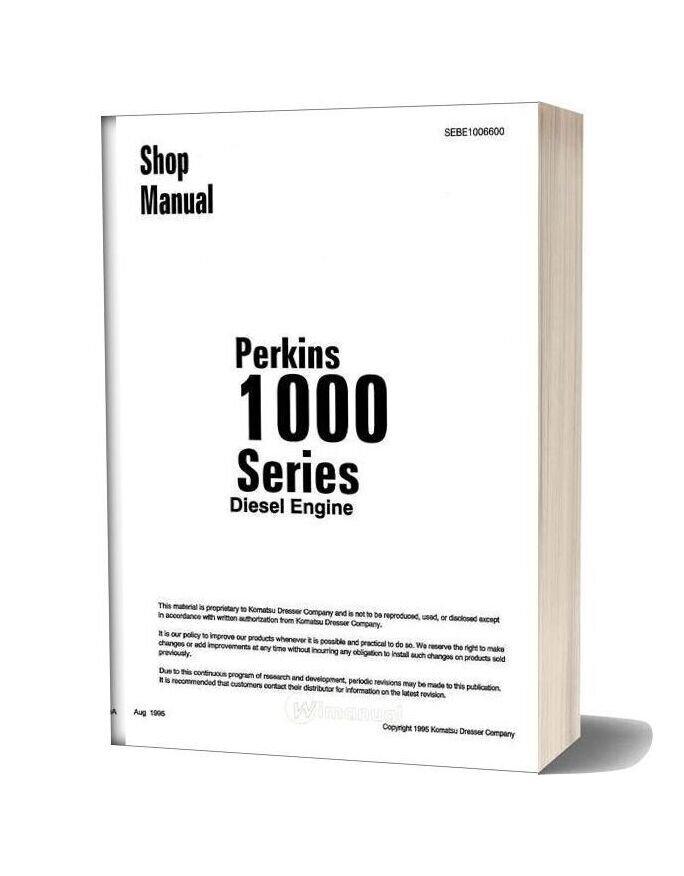 Perkins 1000 Engine Series Manual