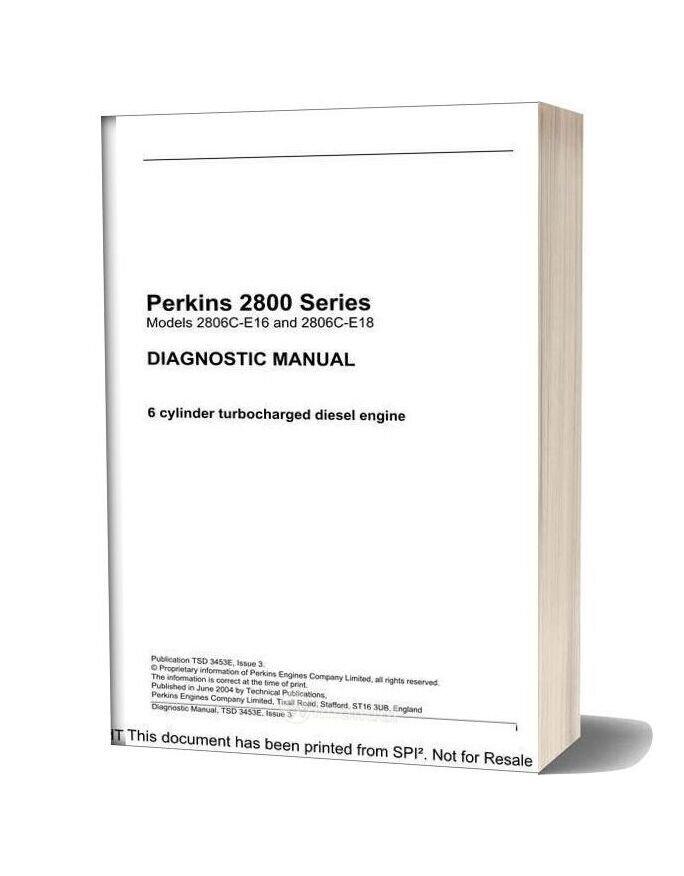 Perkins 2800 Series Diagnostic Manual