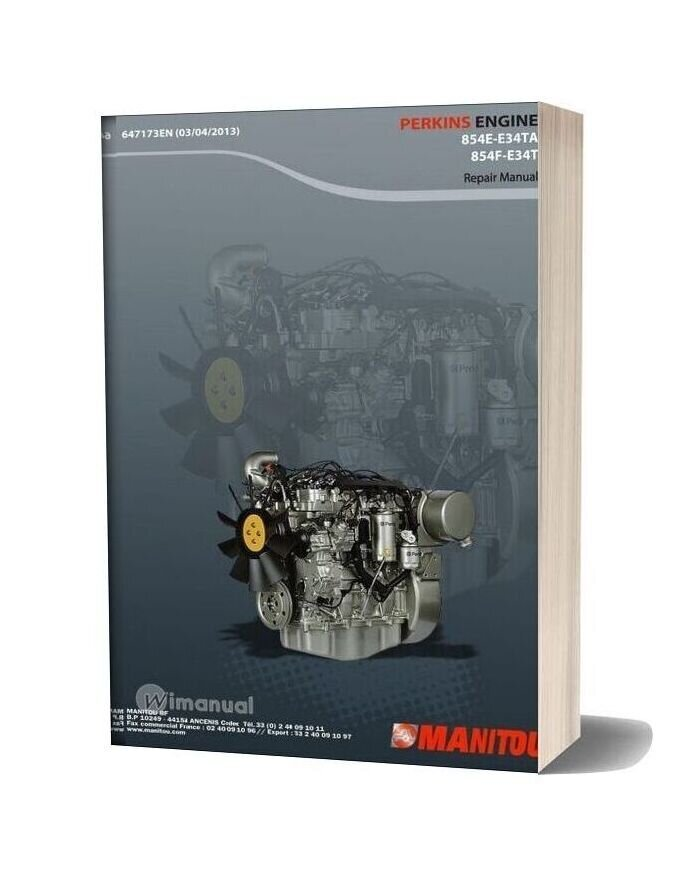 Perkins 854e E34ta Engine