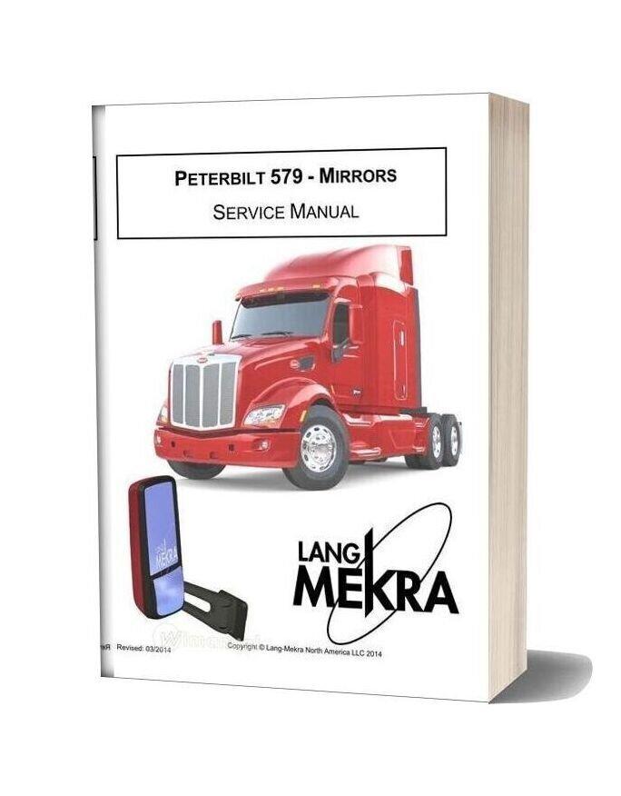 Peterbilt 579 Mirrors Service Manual