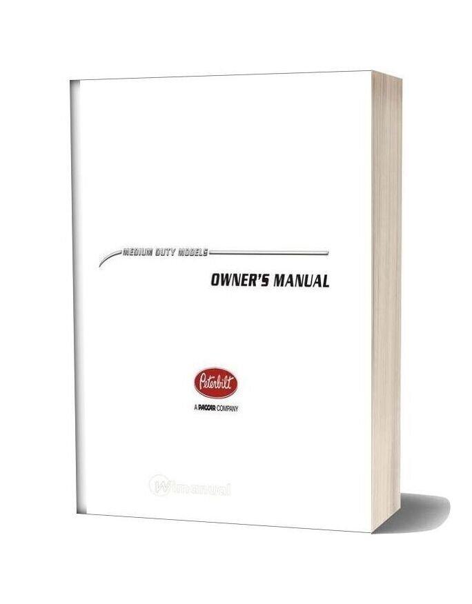 Peterbilt Operator Manuals Medium Duty Operators Manual