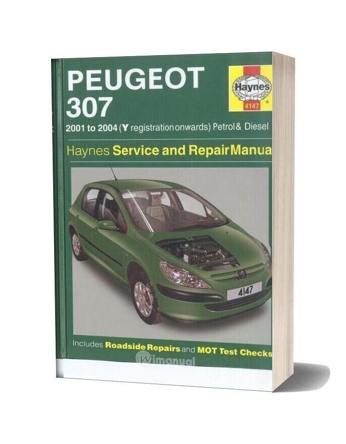 Peugeot 307 Haynes Service And Repair Manual