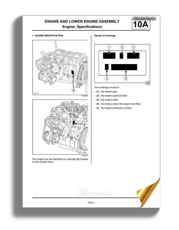 Renault Kxx And K9k Engine Workshop Repair ManualWiManual