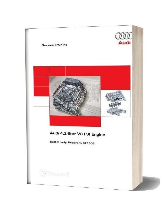 Rs4v8 Audi 42 Liter V8 Fsi Engine Study Guide