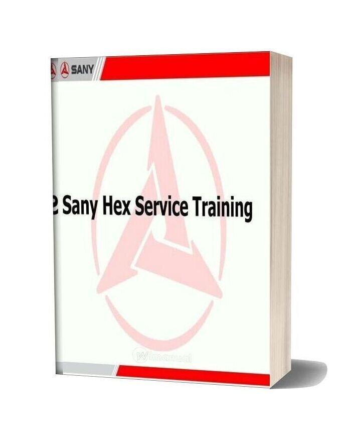 Sany Excavator Training