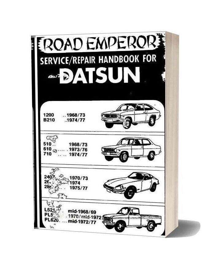 Service Handbook Datsun Road Emperor