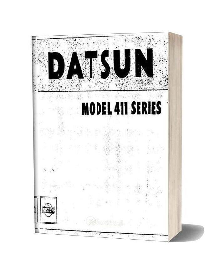 Service Manual Datsun Model 411 Series