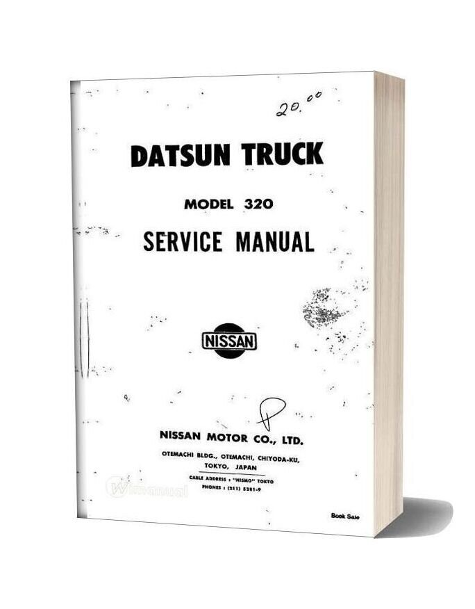 Service Manual Datsun Truck Model 320