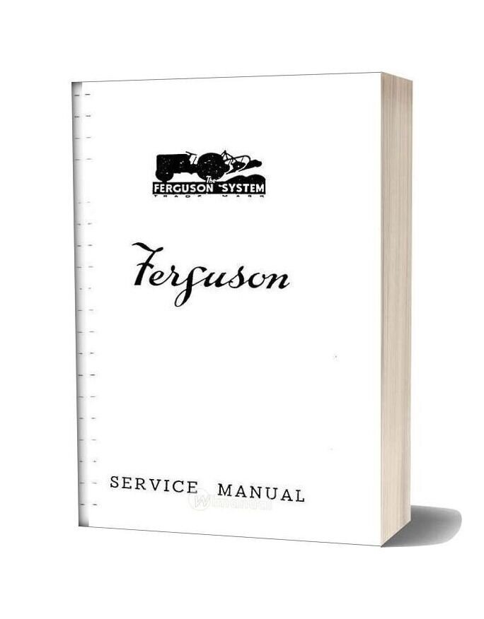 Service Manual Te20 Run Thrue Destill