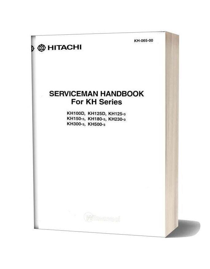 Serviceman Hanbook For Kh Series Kh 065 00