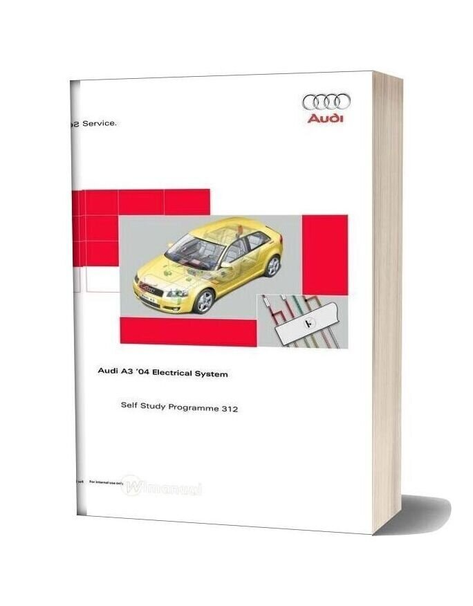 Ssp 312 Audi A3 04 Electrical System