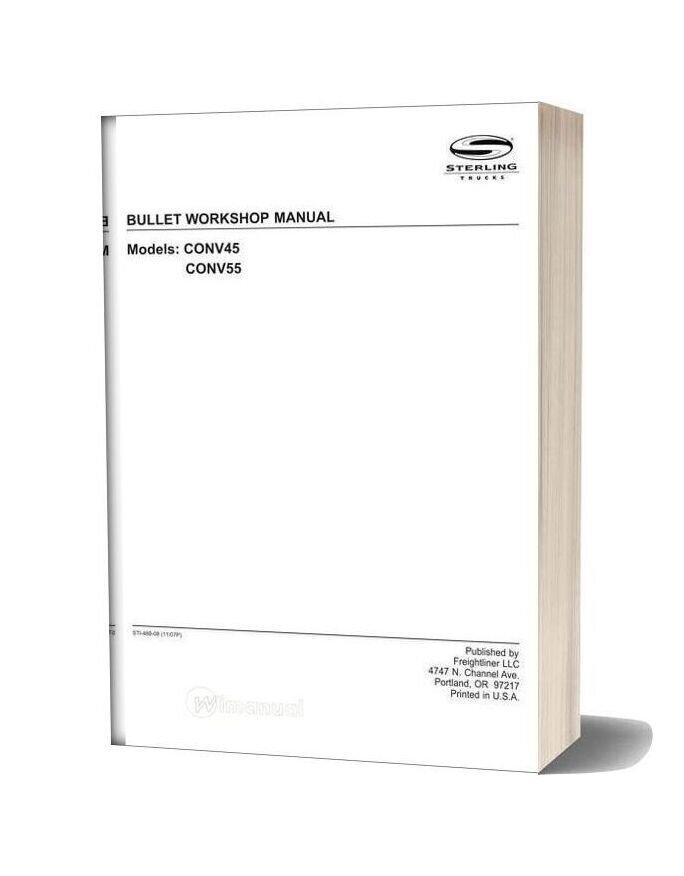 Sterling Bullet Workshop Manual 2008