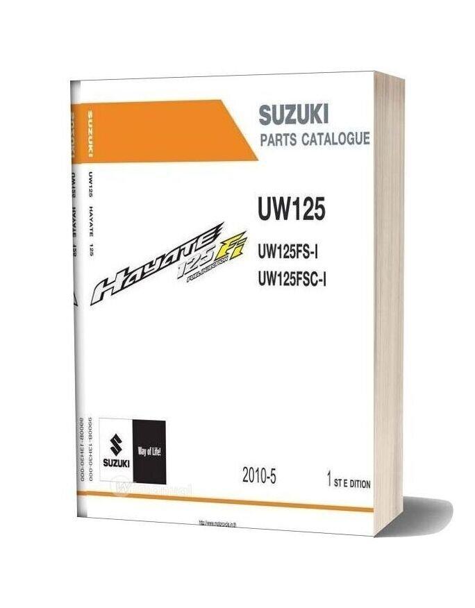 Suzuki Hayate 125 Fi Dcp Parts