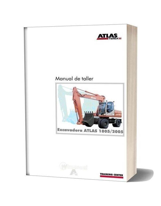 Terex Atlas 1805 2005 Service Manual