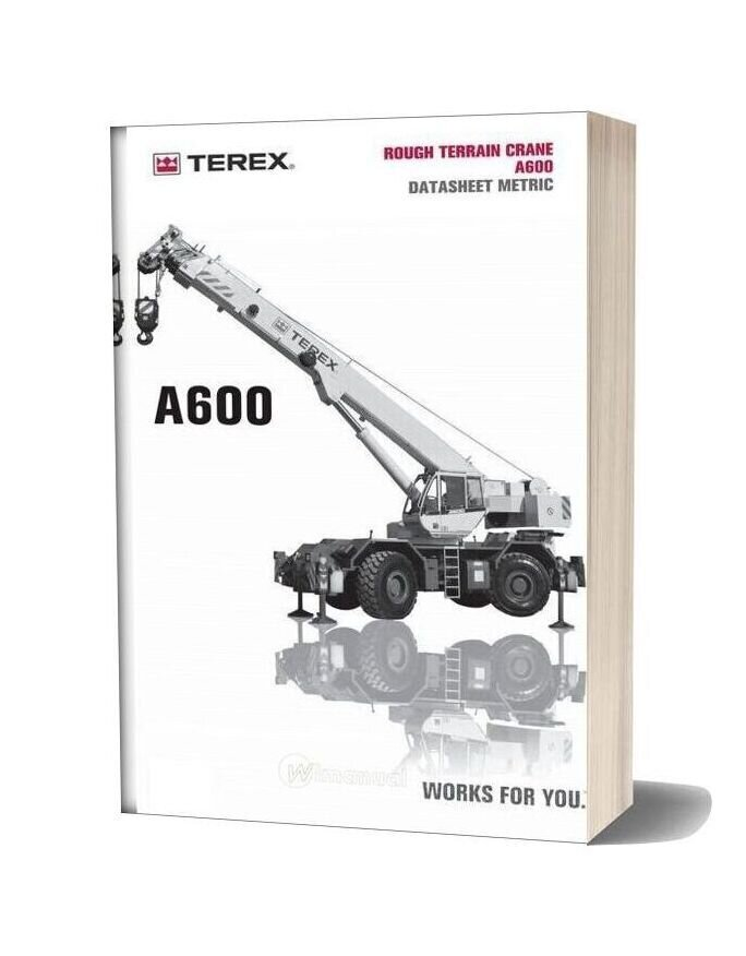 Terex Bendini A 600 Part Catalogue