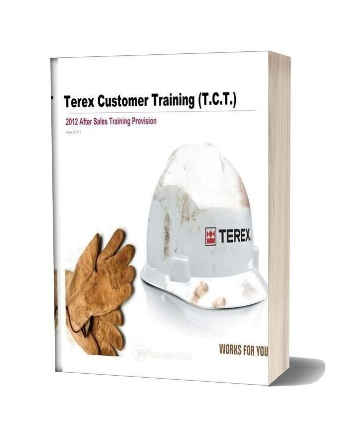 Terex Customer Training Tct