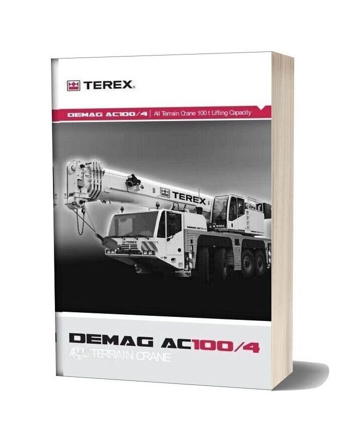 Terex Demag Ac 100 4 Part Catalogue