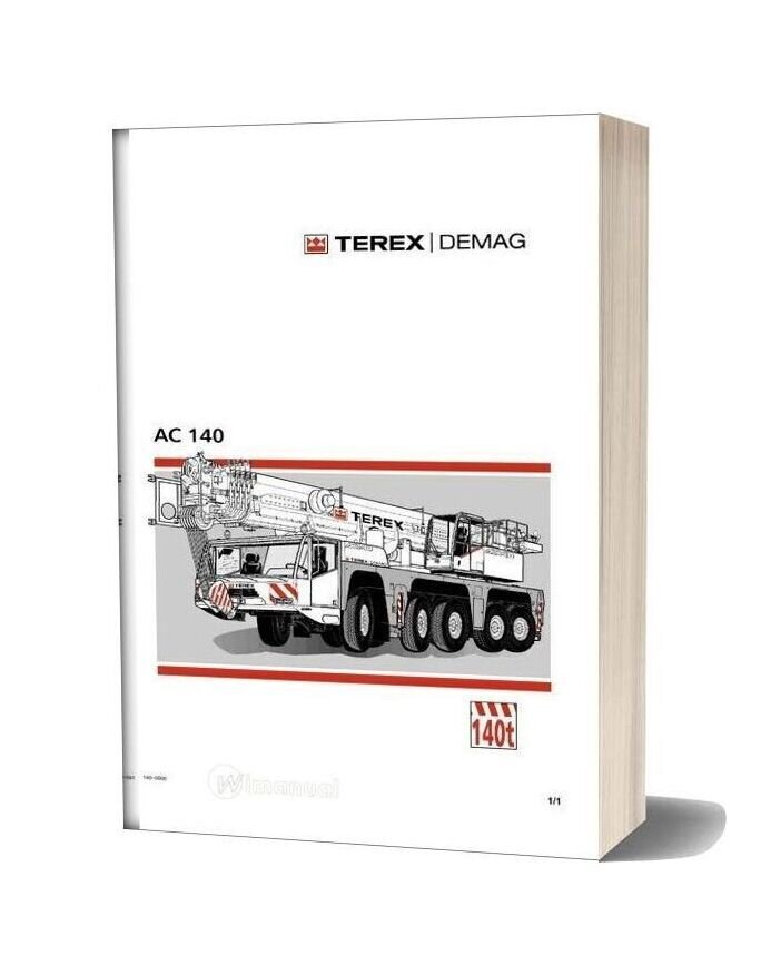 Terex Demag Ac 140 Operation And Maintenance Manual