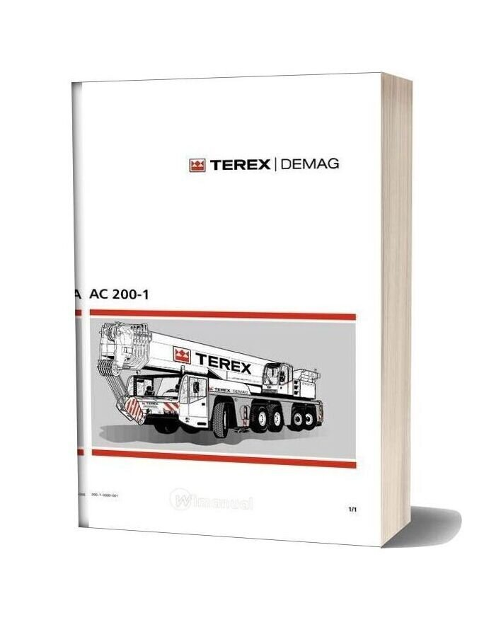 Terex Demag Ac 200 1 Operation And Maintenance Manual
