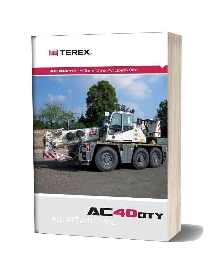 Terex Demag Ac 40 1 Part Catalogue
