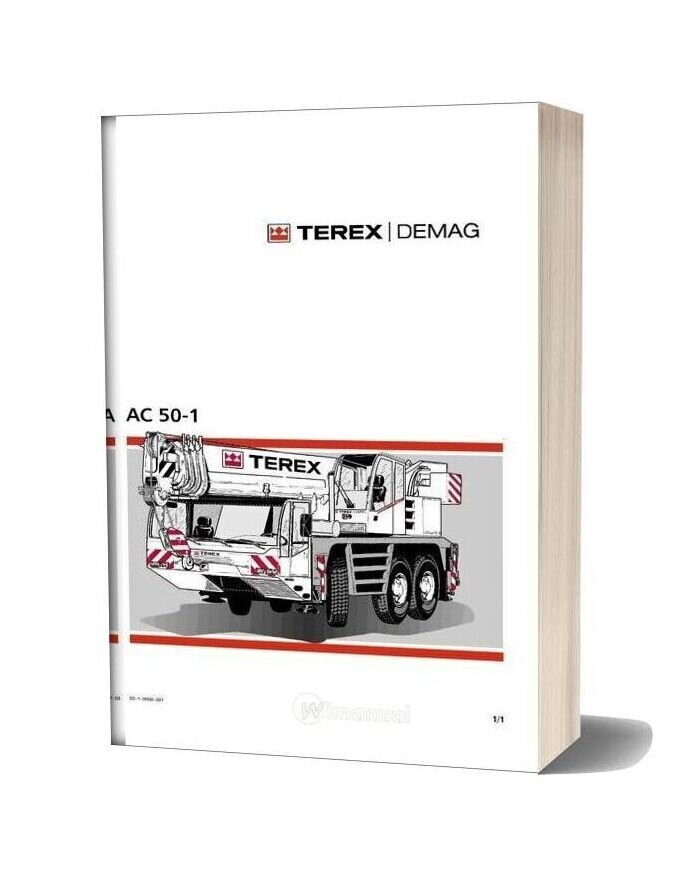 Terex Demag Ac 50 1 Operation And Maintenance Manual