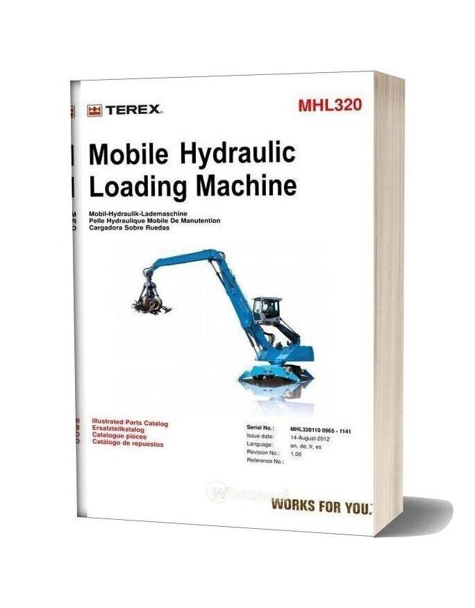 Terex Mhl320 Fuchs 0965 1141 5 14 08 12 2 Parts Catalog
