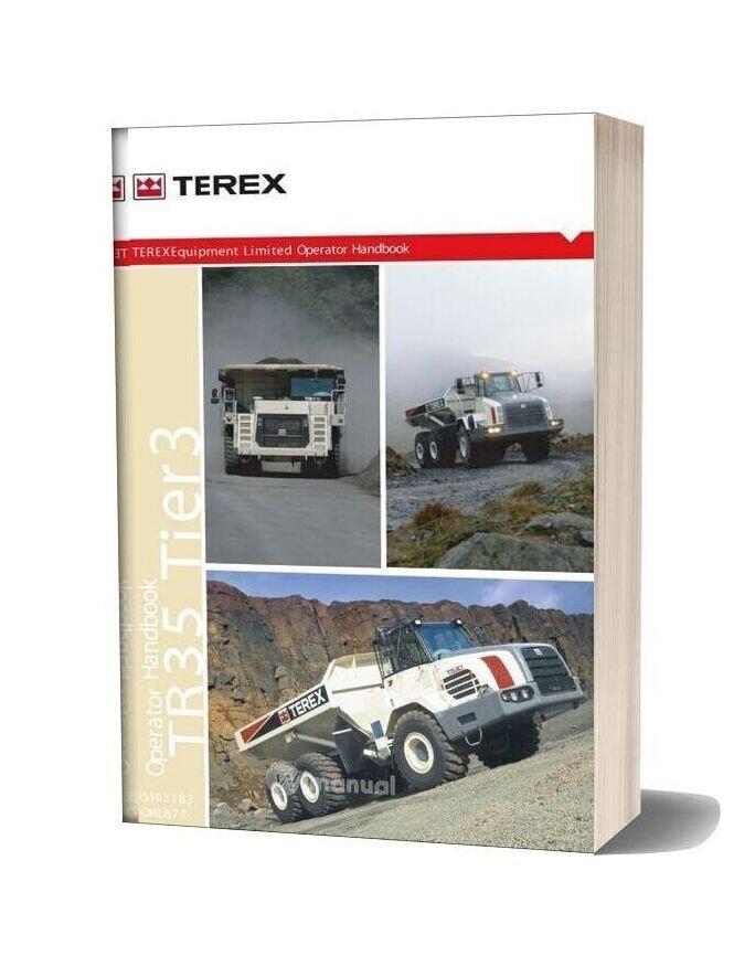 Terex Tr35 Tier 3 Off Highway Operator Handbook