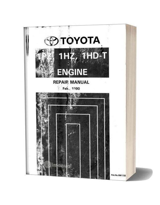 Toyota 1hd 1hz 1pz T Engine