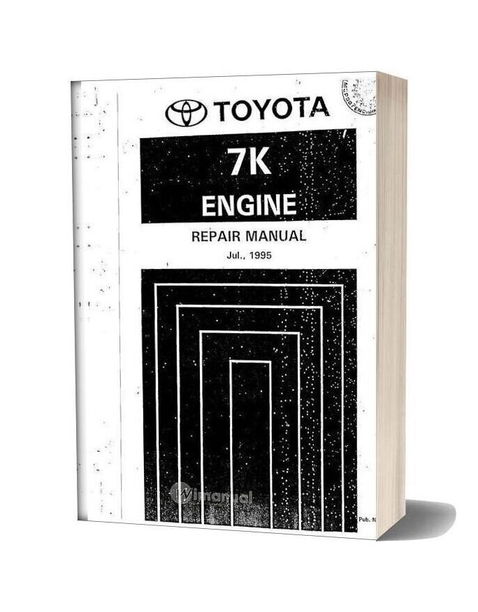 Toyota 7k Engine Repair Manual