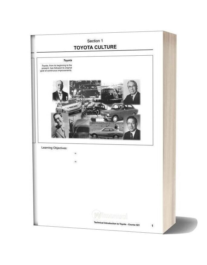 Toyota Technical Introduction
