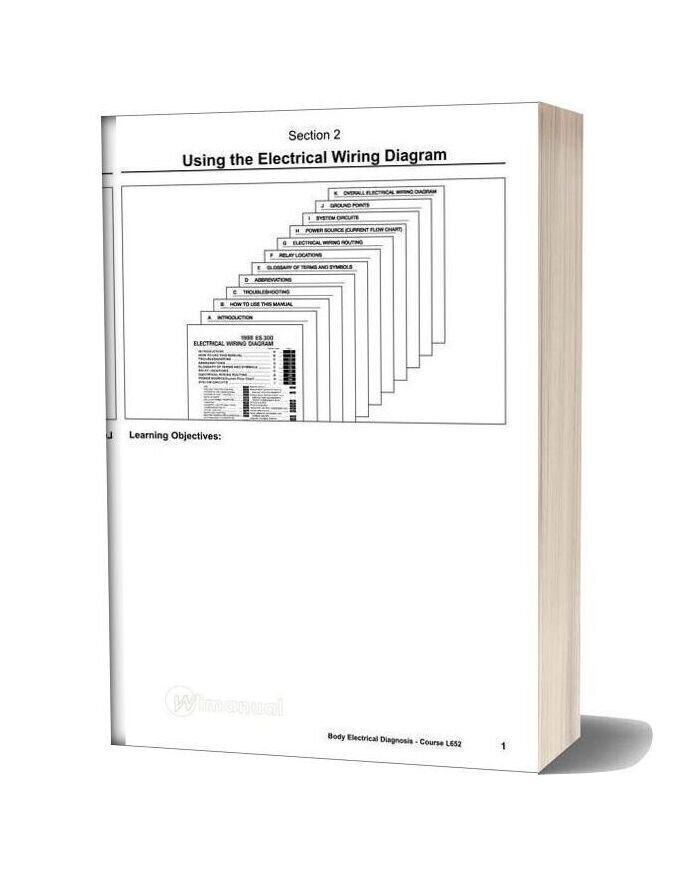 Toyotum Lexu Wiring Diagram