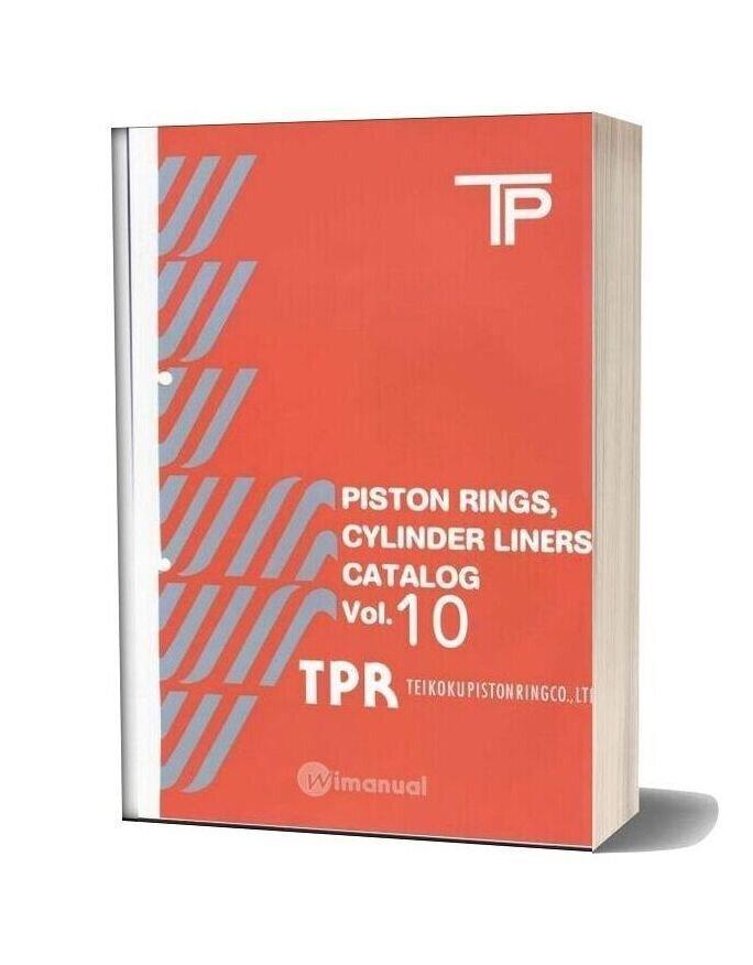 Tpr Piston Ringes Cylinder Linders Catalog Vol 10