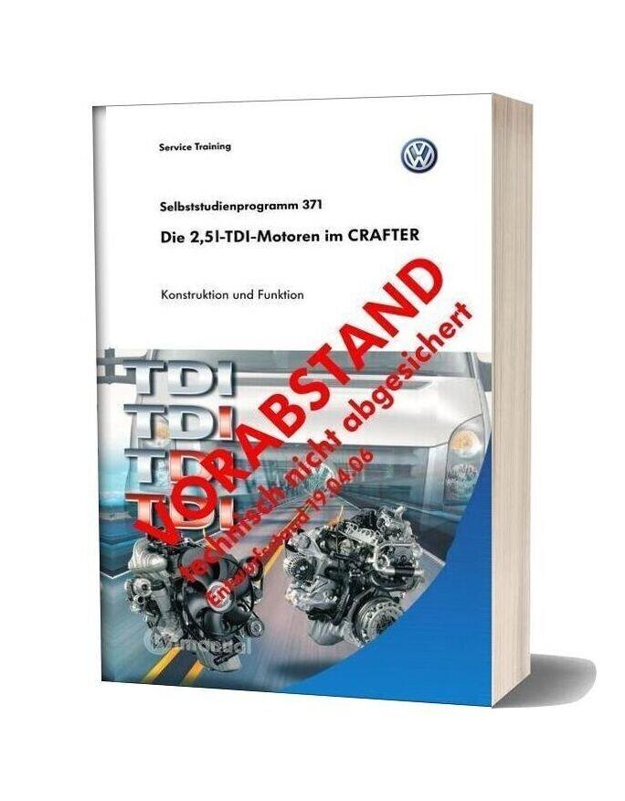 Volkswagen Crafter 2 5 Tdi Engine Part 1