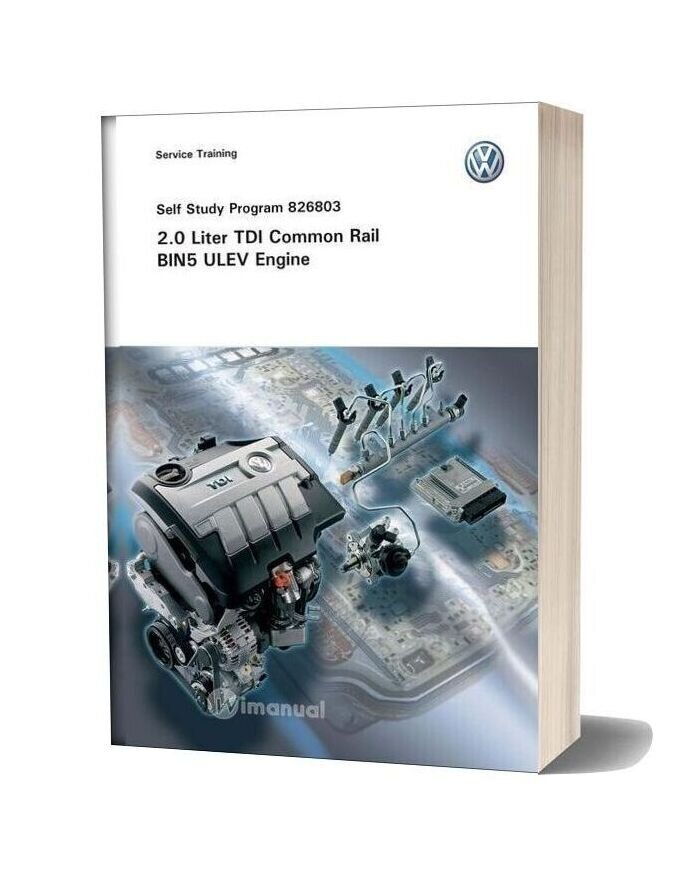 Volkswagen Service Training 20 Tdi Common Rail