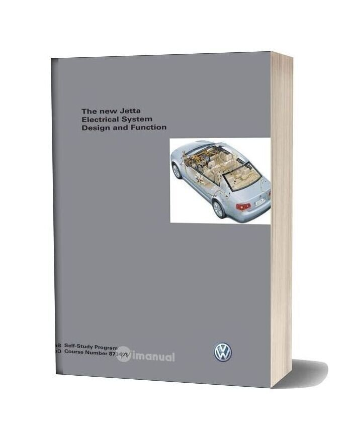 Volkswagen Service Training 873403 The New Jetta Electrical System