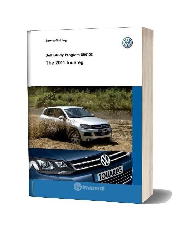 Volkswagen Service Training 890103 The 2011 Touareg