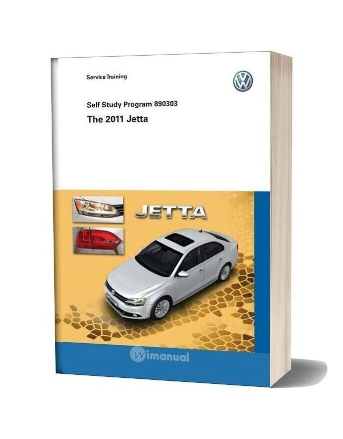Volkswagen Service Training 890303 The 2011 Jetta