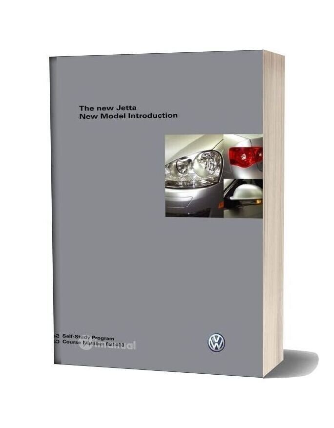 Volkswagen Service Training 891403 The New Jetta Introduction