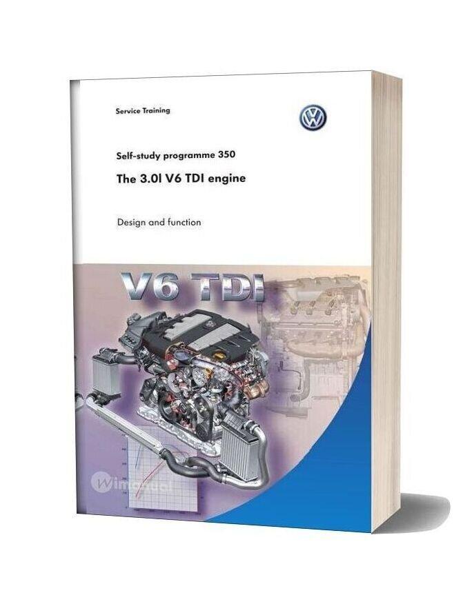 Volkswagen Service Training The 30l V6 Tdi Engine