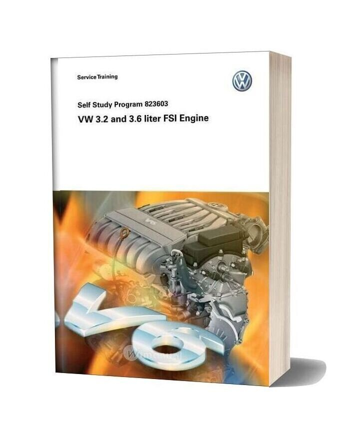 Volkswagen Service Training Vw 32 And 36 Liter Fsi Engine